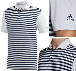Adidas Golf Ultimate 365 Stripe Polo Shirt - RRP£60 S M L XL