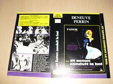 JAQUETTE VHS Et Satan conduit le bal Catherine Deneuve