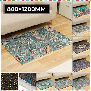 Vintage Carpet Doormat Home Stairs Floor Door Mat Washable Rug Carpet Non-Slip
