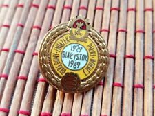 Original old badge of the Bialystok district football association 1929-1969