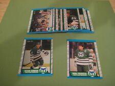 1989/90 O-Pee-Chee OPC Hartford Whalers Team Set