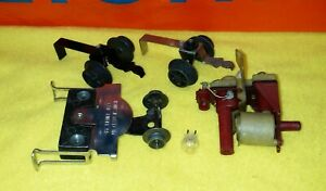 Lionel Scout engine SMOKE UNIT, front & rear trucks, Super Nice parts! 239 NR