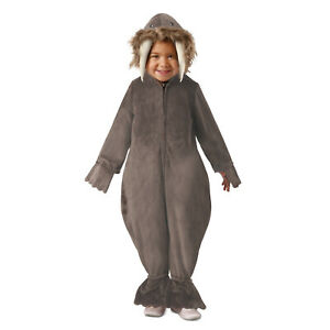 Boys Walrus Sea Animal Baby Toddler Halloween Costume Furry Hooded Jumpsuit