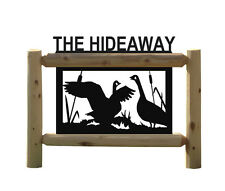 GEESE 15241-2-CLINGERMANS OUTDOOR SIGN-WATERFOWL (1)