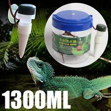 Reptile Drinking Water Dripper Chameleon Lizard Dispenser Terrarium Habitat