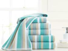 Royal Victorian Stripe Towel 100% Flossy Cotton Stripe Design Excellent Quality