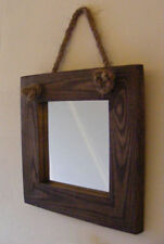 Rustic Square Wall-mounted Decorative Mirrors
