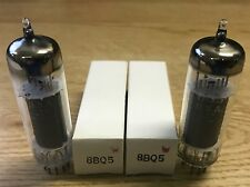 8BQ5 6BQ5 GE Matched Pair Vacuum Tube NOS Tested Strong (More Available)