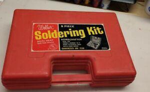Vintage Weller No. 8200 Soldering Gun Kit 100/140 Watts