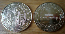 Medal Basilica Sacre Coeur Montmartre Christ Mosaic Unc France 2009 Gold Color