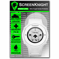 ScreenKnight Garmin Approach S4 SCREEN PROTECTOR invisible military shield