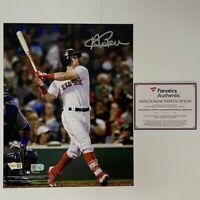 Andrew Benintendi Boston Red Sox 2018 MLB World Series Action Photo Size: 8 x 10