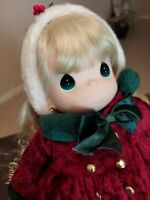 Vintage Precious Moments Doll Classic Collection 'Star' Christmas Caroler in Box