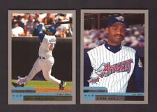 2000 Topps - ANAHEIM ANGELS - Team Set w/ Traded & Rookies 17 Cards Mint