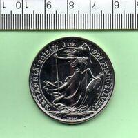 2015 SILVER CAPSULED BRITANNIA TWO POUND COIN