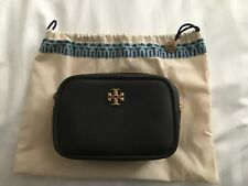 Tory Burch NEW Limited Edition Black Strap Leather Chain Mini Bag $258