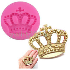 Crown Fondant Cake Silicone Molds Mould Cupcake Chocolate Candy  Fimo Sugarpaste