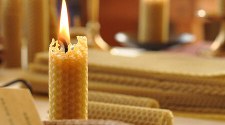 beeswax candles uk
