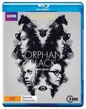 ORPHAN BLACK : SEASON 4  Blu Ray - Region B  sealed