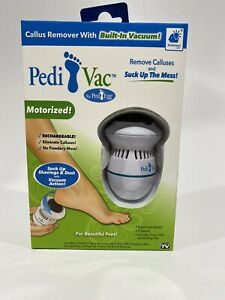 Pedi Vac White Foot File 1 Pk
