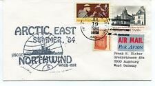 1984 USCGC Northwind WAGB-282 Summer Air Force Polar Arctic East Cover