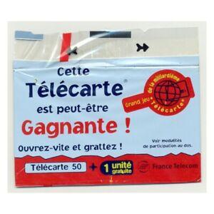 TELECARTE NSB 50 UNITES 11/99 A GRATTER PERDU FRANCE TELECOM F1021A
