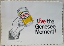 Brewery Genesee Beer new old store stock vintage paper placemats circa 1920's