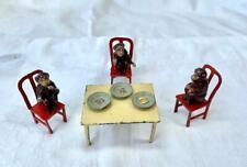 Chimpanzé Thé Fête Cirque Zoo Taylor & Barrett Miniature Câble Figurine Poupée
