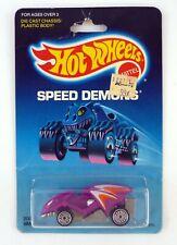 HOT WHEELS VAMPYRA #2060 Speed Demons Diecast Car MOC COMPLETE 1986