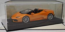 MR 1/18 Lamborghini Huracan LP610-4 Spyder Arancio Borealis LAMBO020B
