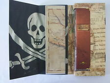 SDB902Pack New Swatch 1999 Uncino Special Pirate Map Skull Swiss Made Authentic