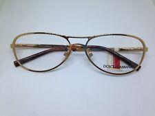 DOLCE E GABBANA DG1132 occhiali da vista vintage oro doppio ponte gold glasses