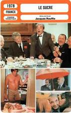 FICHE CINEMA : LE SUCRE - Carmet,Depardieu,Piccoli,Rouffio 1978