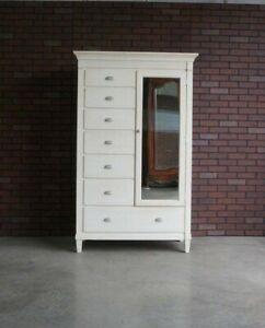 Chest of Drawers ~ Door Chest ~ Swedish Home Mirrored Door Chest by Ethan Allen