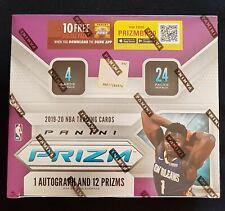 Panini Prizm 24-Pack Basketball NBA Box 2019-20 One auto + 12 Prizms!!