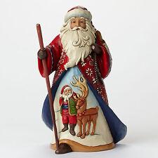Jim Shore Heartwood Creek Lapland Santa Reindeer Scene 4046759 A Joyful Journey