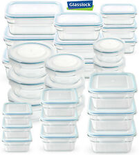 Glasslock Food-Storage Container Microwave & Oven Safe 3 Container Set in 9 Size