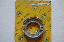 REAR BRAKE SHOES fits YAMAHA QT MJ 50, 79-92 QT50 80-93 MJ50 Towny, 77-81 S50