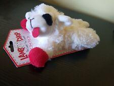 Multipet INTERNATIONAL Lamb Chop Plush Squeaky Dog Toy 6 inch sheep herding dogs