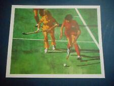 New listing Bart Forbes Olympic Field Hockey art print       1988 Seoul Korean Olympics