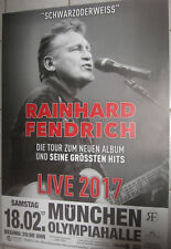Rainhard Fendrich- Tourposter/Tourplakat 2017 -  München - NEU