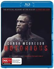 Conor Mcgregor - Notorious (Blu-ray, 2017)