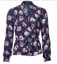 Target Long Sleeve Regular Floral Tops & Blouses for Women