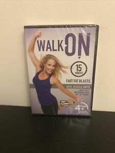 Walk On: 15-Minute Fast Fat Blasts with Jessica Smith DVD - Brand New - Sealed!