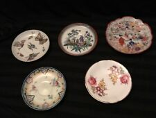 Set Of 5 Assorted Vintage Saucers England / Japan Ect Must Look