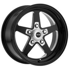 "Vision 571 Sport Star 15x10 5x4.5"" +0mm Gloss Black Wheel Rim 15"" Inch"