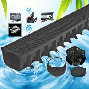 Plastic Shallow Storm Water Channel Drainage PVC Channel 1m Driveway Aco Drain