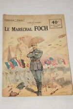 COLLECTION PATRIE N°144 MARECHAL FOCH DUCRAY 1918 ILLUSTRE GUERRE