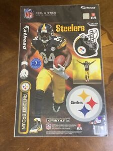 NEW Antonio Brown Pittsburgh Steelers Fathead 7 Decals