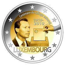 SPECIALE 2 EURO LUXEMBURG 2019 100 JAAR STEMRECHT  BIJ JOHN